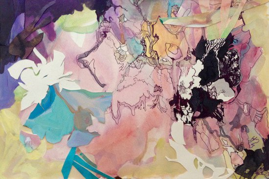 Work by Alexandra Chiou. Courtesy of Willow Street Gallery.