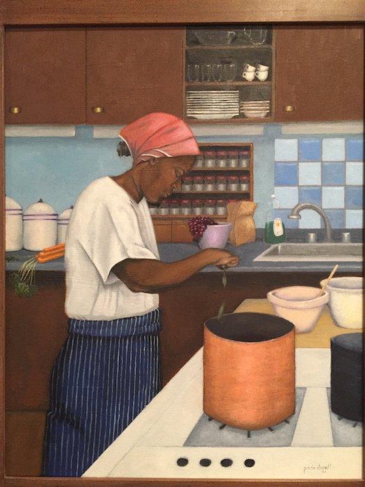 Copper Kettle by Paula Cleggett. Courtesy of Hill Center Galleries.
