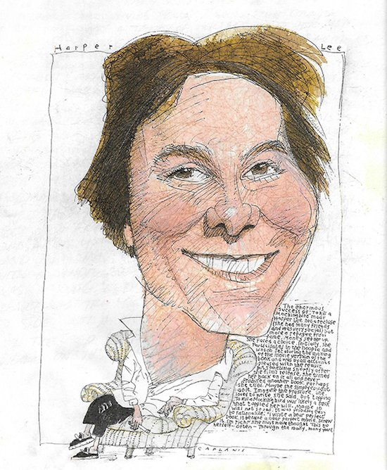 Harper Lee by Mike Caplanis. Courtesy of Artists & Makers Studios 2.