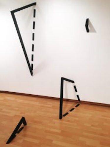 Wade Kramm (2016 Open Exhibition Recipient), Wade Kramm: Dotted Space, Titled Planes, 2016, Target Gallery.