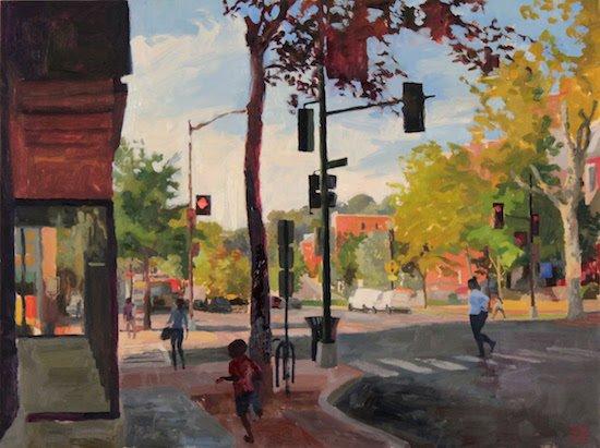 Painting by Elaine Wilson. Courtesy of the Historical Society of Washington DC.