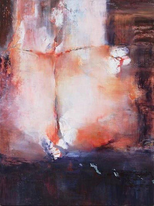 """Andrei Petrov. Safe Flight, 2017, 48""""x36"""", oil on canvas. Courtesy of Morton Fine Art."""
