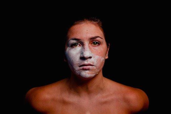 Katie Douglas, Removing the Mask, 2014. Courtesy of GRACE.