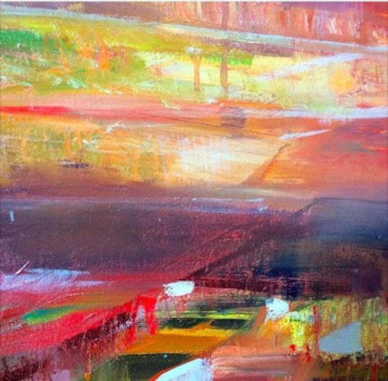 Loose Under Painting by Trevor Young. Courtesy of WSS.
