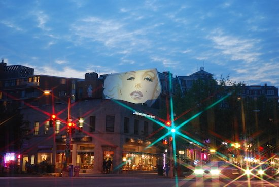 Marilyn by John Bailey. Courtesy of DC Murals Spectacle & Story.