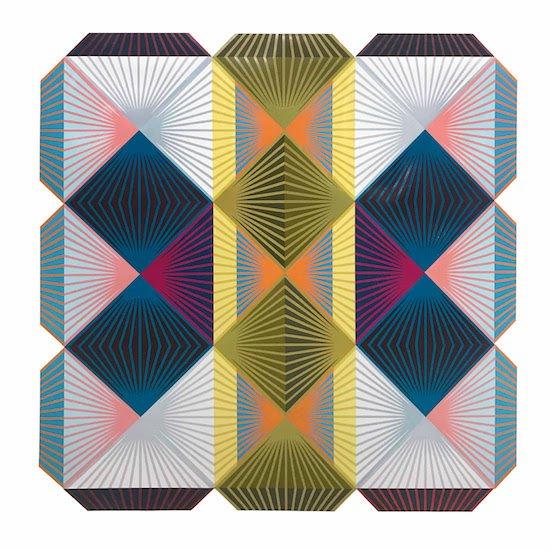 "Matt Neuman, Shibboleth 3, 74"" x 74"". Courtesy of Long View Gallery."