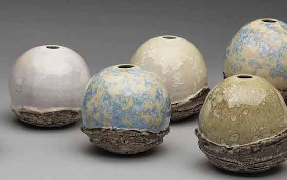Work by Sarah Nikitopoulos. Courtesy of Hollow Work Ceramics Studio.