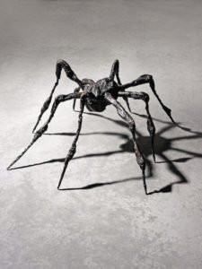 Louise Bourgeois, Spider III, 1995; Bronze, 19 x 33 x 33 in.; National Museum of Women in the Arts, Gift of Wilhelmina Cole Holladay; Art © The Easton Foundation/Licensed by VAGA, New York, NY.