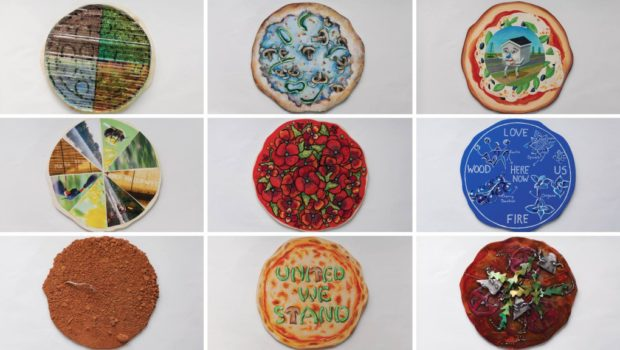 The Pizza Artistically Considered: Art Works Now 'Master-Pizzas' Project