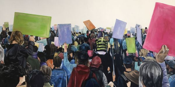 East City Artnotes:  Art of Engagement at Touchstone Gallery