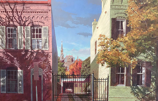 """Georgetown Galleries on Book Hill Present Fall Art Walk and """"Second Saturdays"""" Series"""