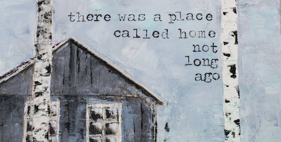 The Art League Presents Karin Lithell Home Sweet Home — On the Move