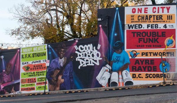 Anacostia Mural Many Voices, Many Beats, One City Memorializes Titans of Go-Go