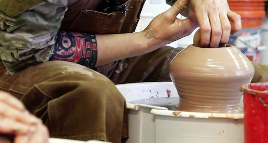IMPart Ceramics & Bladesmithing Exhibit at The Art League