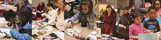 Annual Holiday Card Workshop at the Smithsonian National Postal Museum
