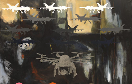 The Art League Presents Beverly Ryan Drone Zone