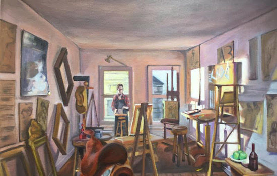 Honfleur Gallery Presents Regina Miele Through The Looking Glass, Urban Perspectives