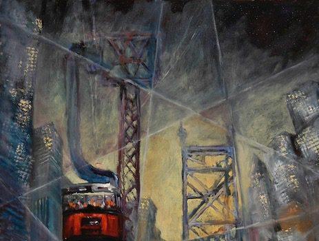 The Art League Presents Robert Gilbert A Study of Manhattan: Power, Dominance, and Excitement
