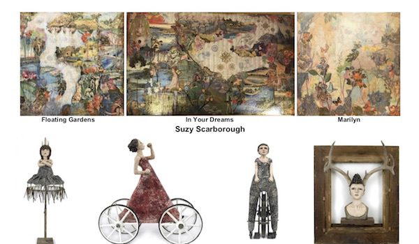 Zenith Gallery Presents Elissa Farrow-Savos and Suzy Scarborough Journeys, Memories and Dreams for the Future