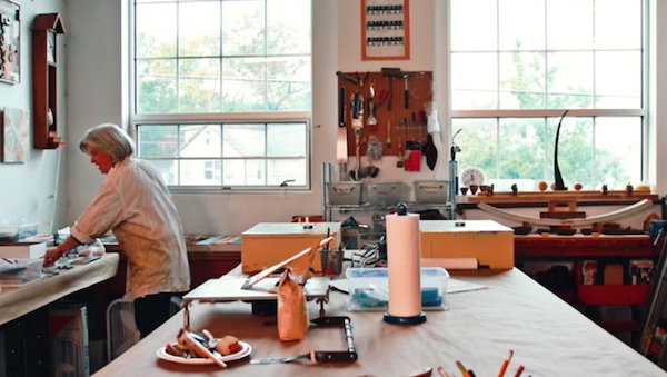 2018 Spring Open Studios: Katie Dell Kaufman at Gateway Arts Center