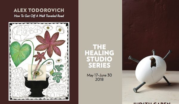 Joan Hisaoka Healing Arts Gallery Presents The Healing Studio Series: Judith Capen and Alex Todorvich