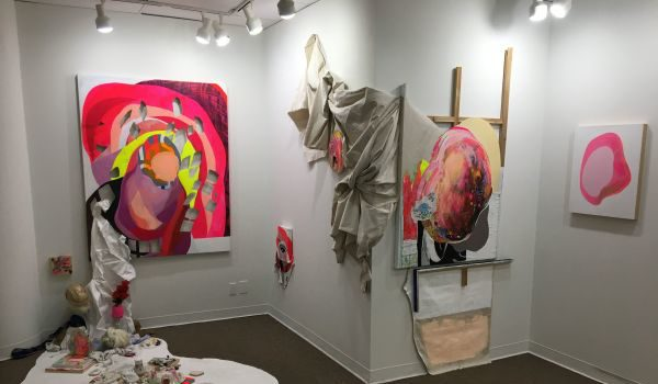 East City Art Reviews: INTIMATE Gathering at WAS Gallery