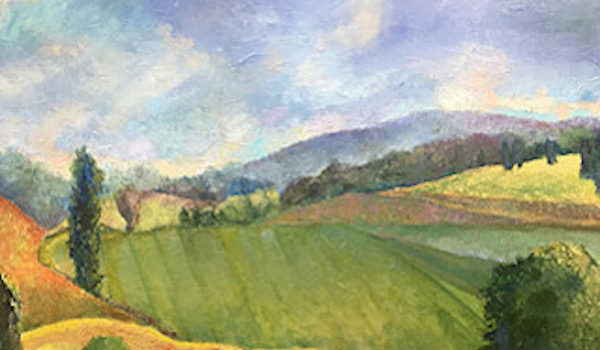 Waverly Street Gallery Presents Tim Carrington Landscapes, Arrival and Recognitions