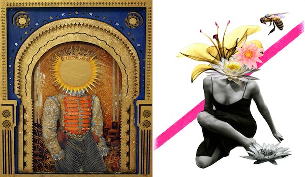 Latela Art Gallery Presents Dimensions: A Collage Exhibition Group Exhibition