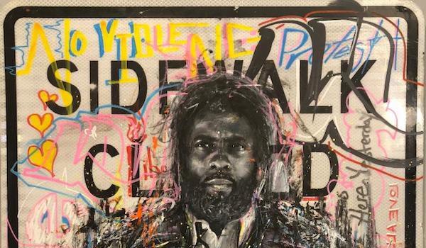 Honfleur Gallery Presents Peralta Del Valle Love, Hope and Street Art