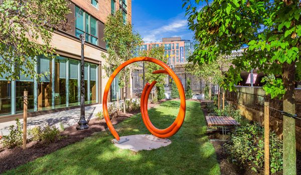 New Residential Building in NoMa Neighborhood Incorporates Work of Local and National Artists