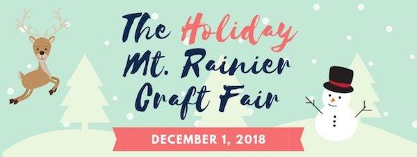 Joe's Movement Emporium Hosts the 2018 Mt. Rainier Craft Fair