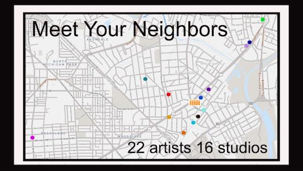 Portico Gallery and Studios Presents Meet Your Neighbors Group Exhibition