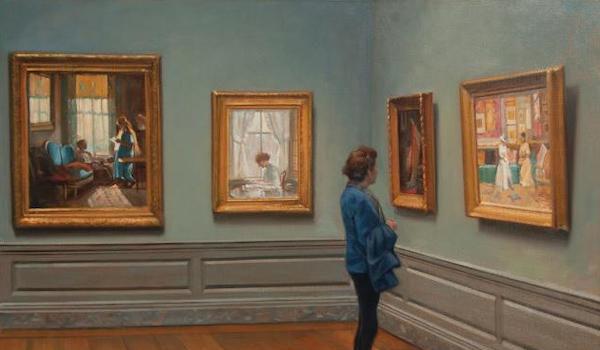 Zenith Gallery Presents Bradley Stevens Museum Studies II: Honoring the Female Perspective
