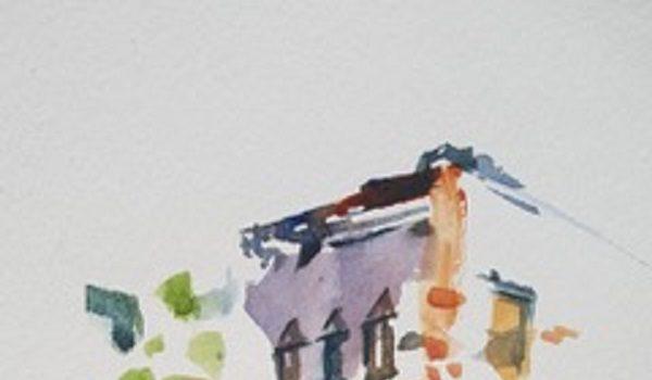 Art Enables Studio and Gallery Hosts Minimalist Watercolor Workshop