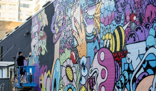 2019 POW! WOW! DC Mural Festival at NoMa