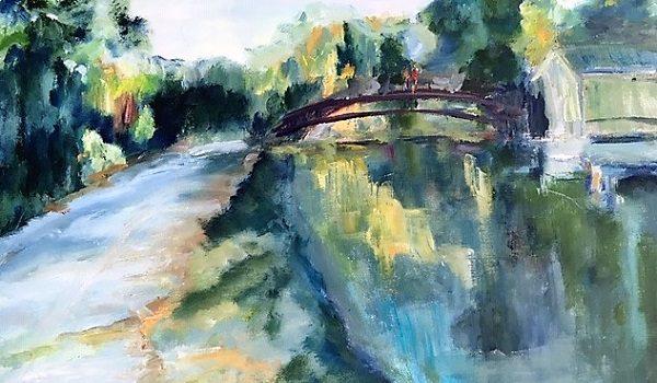 Gallery Clarendon and Arlington Artists Alliance Presents Ingrid Mateszewski Not So Far Away: Regional Landscapes