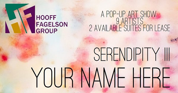 Hooff Fagelson Group Presents Serendipity III: YOUR NAME HERE Group Exhibition