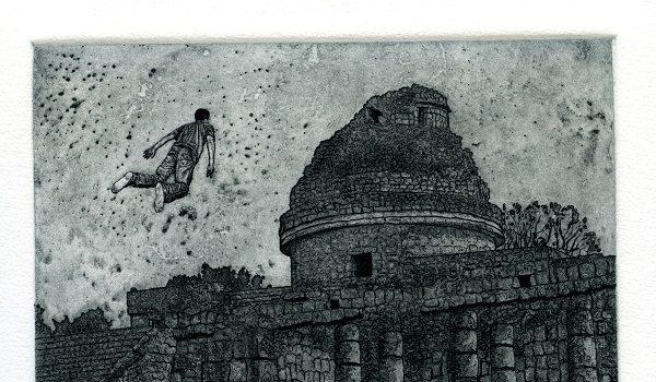 Washington Printmakers Gallery Presents Marco Hernandez Mi Viaje y las Batallas/ My Journey and the Battles