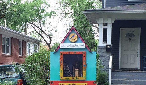 The City of Takoma Park Call for a Public Art Little Library Project Proposal