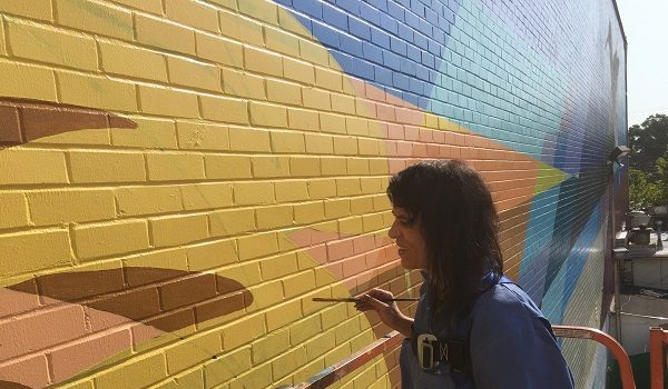 Bethesda Arts & Entertainment District and The Bernstein Companies Honor Mural Artist