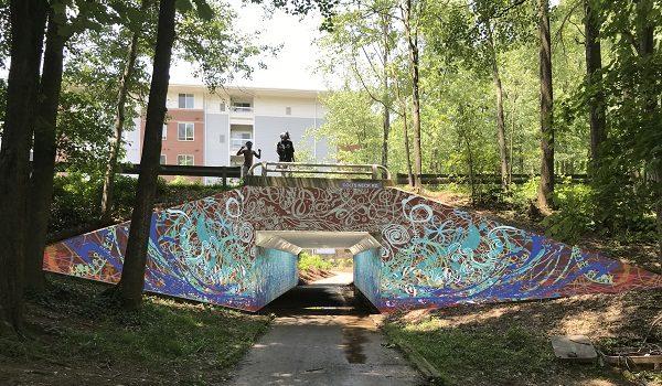 Public Art Reston Announces Ben Volta's Final Design of Public Art Project for Colts Neck Road Underpass