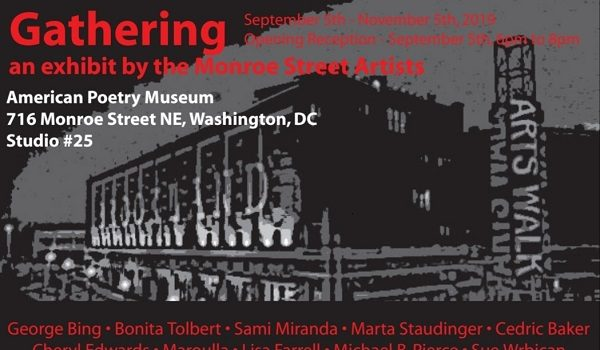American Poetry Museum Presents Gathering Group Exhibition