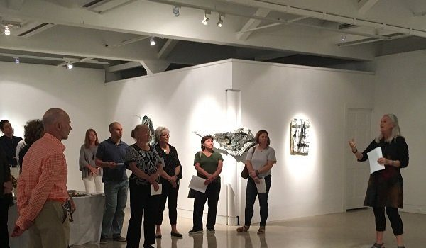 "McLean Project for the Arts Hosts ""Tea & Talk"" with Curator Nancy Sausser"