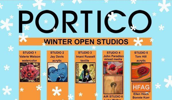 Portico Hosts 2019 Annual Winter Open Studios