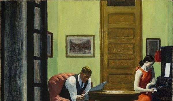 East City Art Reviews—Looking In: Edward Hopper's Hotel Interior Views