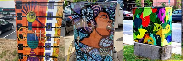 Traffic Box Art Project