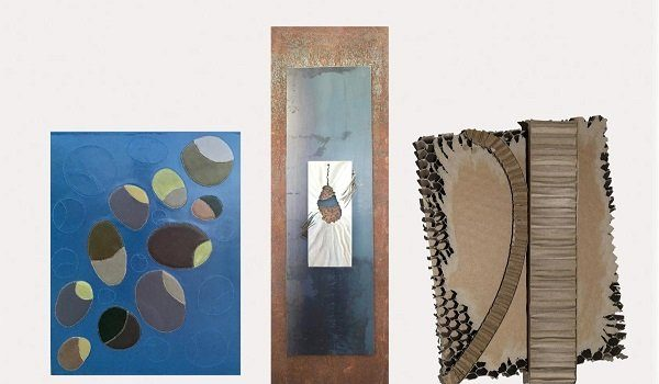 Portico Gallery Presents Chase DeForest, Chris Bohner, and Elisabeth Jacobsen Leather Metal Cardboard