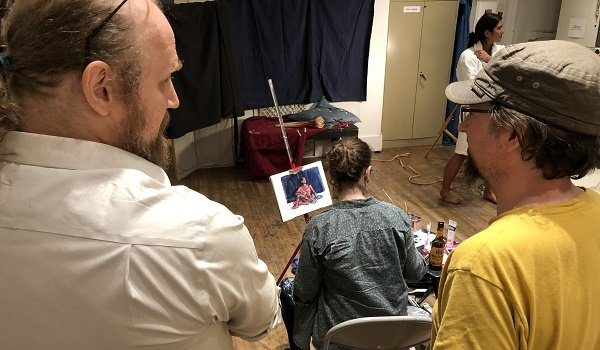 CHAW Hosts March 2020 Working From the Figure Drop-In Figure Drawing
