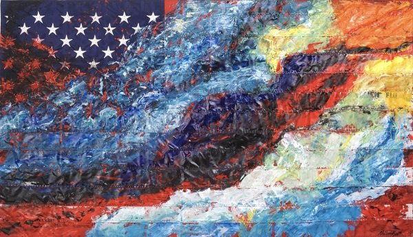 Foundry Gallery Presents Red, White & Blue for Who? by Natacha Thys