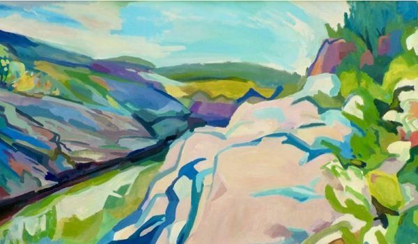 The Art League Gallery Presents Across the Gorge and Other Spaces Between by Steve Moen